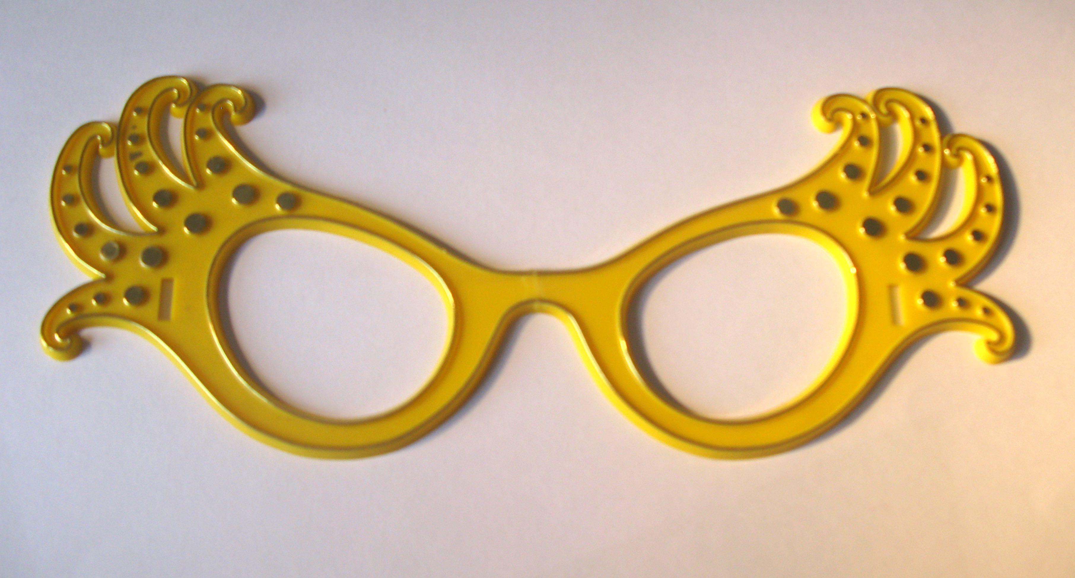 'Dame Edna' Costume Glasses