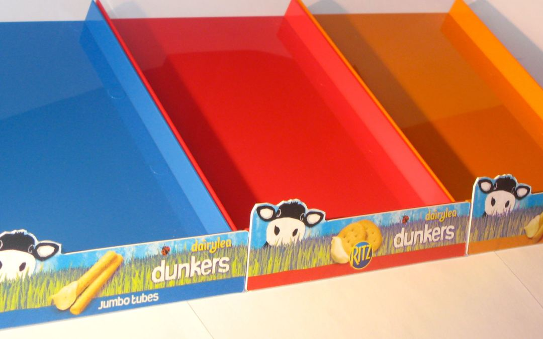 Dairylea Cheese Display Stands